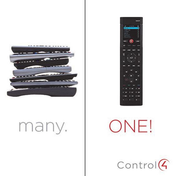 photo of remote control