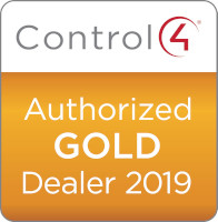 Control4 Authorized Gold Dealer 2019