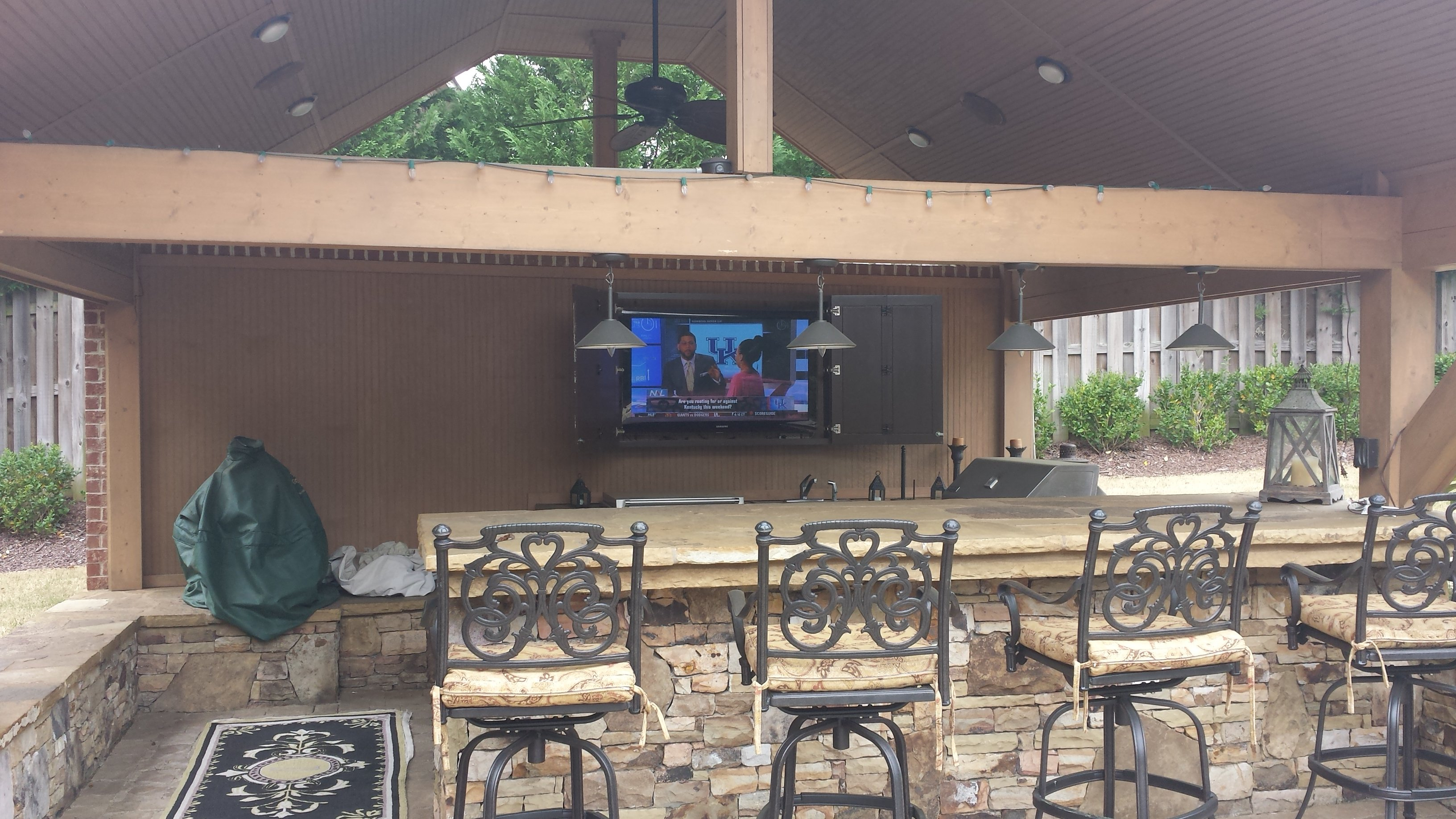 Flat Panel Installs Home Theater Services In Atlanta Smart House Wiring For Tv Consultation Making The Right Choice Easy Do You Want Your New Mounted Over Fireplace Or A Weather Proof Connected Outdoor